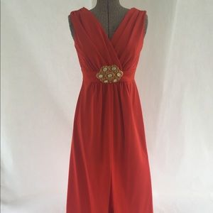 Dresses & Skirts - VIBRANT ORANGE MAXI DRESS